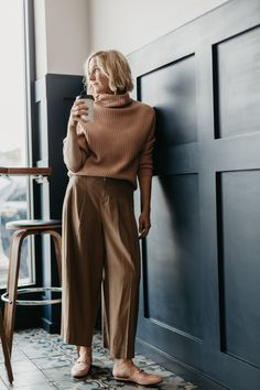 How to Make This Fall's Wide Leg Pant Trend Work for You! - Anne Sage
