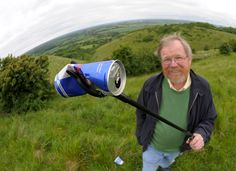 Hilarious author Bill Bryson, President of  Campaign to Protect Rural England (CPRE) is on a mission to eliminate litter.