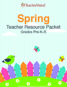 Spring is here! Celebrate the season with spring activities, crafts, lessons and games -- all in one convenient printable book. https://www.teachervision.com/spring/printable-book/76778.html