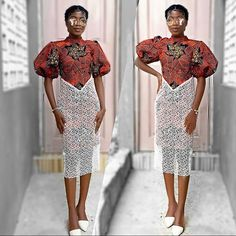 Latest Ankara Dresses, African Lace Dresses, Ankara Dress Styles, Latest Ankara Styles, Ankara Gowns, African Fashion Dresses, Nigerian Fashion, Beautiful Ankara Styles, Couture Skirts
