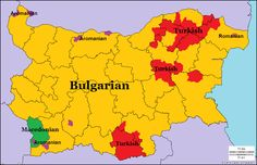 Languages of Bulgaria < F (w/e his flag reichstag)… European Languages, World Languages, Netherlands Map, Historical Maps, Historical Pictures, European Map, Semitic Languages, Geography Map, City Maps