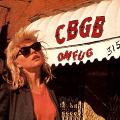 Blondie CBGBs, ultimate cool.