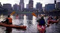 kayaking in oregon (especially near portland)