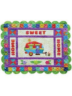 Home Sweet Home (Away from Home) Quilt Pattern