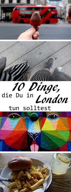 Auf dem Blog verrate ich Dir 10 To-Do's für deine Reise nach London! Vom Borough Market über die Millennium Bridge bis zum Shoreditch Vintage Market ist alles dabei, was Deinen Urlaub perfekt macht!