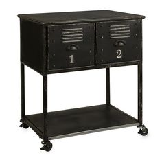 Found it at Wayfair - Alastor Rolling Cart Table with 2 Drawers