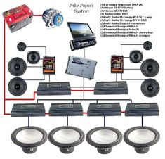 Car audio amplifier instalation guide schematic diagram car audio sound system wiring diagram in addition to car audio system wiring 599x576 jpeg cheapraybanclubmaster Gallery