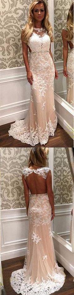 Charming Appliques O-Neck Prom Dresses,Long Prom Dresses,Green Prom Dresses, Evening Dress Prom Gowns, Formal Women Dress,Prom Dress