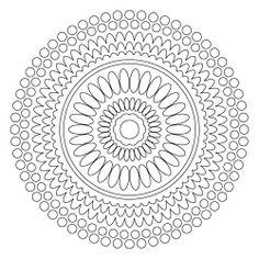 Mandala Art Free Coloring Pages | Mandala Coloring Pages http://www.squidoo.com/free-mandalas-coloring ...