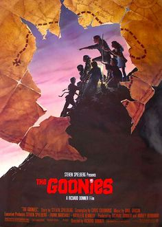 The Goonies poster by Drew Struzan