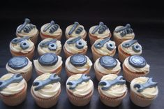 Mechanic Cupcakes