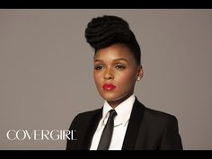Quick & Simple - Janelle Monae Inspired Hair Tutorial - YouTube