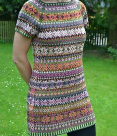 Mirabel, free (!) pattern by Birthe Pedersen. Hide your initials or a date or something else meaningful in the side seam...