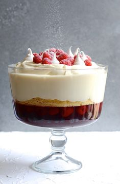 If you're looking for the Best holiday dessert recipes, here is a collection of showstopping favourites, from trifle to sticky toffee puddings! My Recipes, Dessert Recipes, Trifle Desserts, Kitchen Recipes, Chef Recipes, Just Desserts, Baking Recipes, Kos, Vanilla Sponge Cake