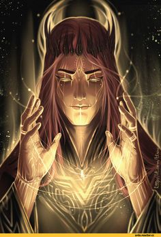 Sauron- creepy, evil, ringsmith