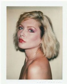 Debbie Harry Taken by Andy Warhol in 1980
