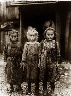 Child workers before Child Labor Laws