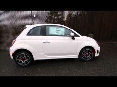 2013 Fiat 500 Turbo   White   DT751210   Redmond   Seattle Fiat 500 Turbo, Seattle, Youtube, Youtubers, Youtube Movies