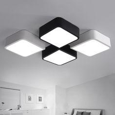 Modern Ceiling Light LED Ceiling Lights Fixture Home Indoor ...