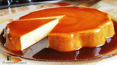 Orange and Caramel Cake Jello Recipes, Cake Recipes, Dessert Recipes, Spanish Desserts, Delicious Desserts, Yummy Food, Flan Recipe, Sweet Cooking, Love Food