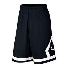 Nike Jordan Flight Diamond Mens 799543-010 Black DriFit Basketball Shorts Sz XL