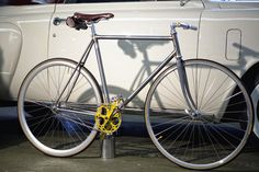 Vitoria Fixed Gear by Acero Recycling Bicycles