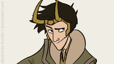 dkettchen: genderfluid Loki - Animation<<You know why this is going on here, even if it is Marvel Loki style.
