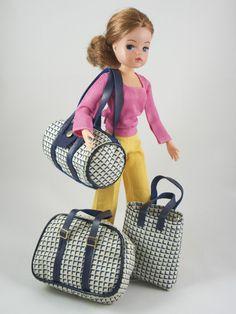 Sindy Fleur TRAVEL BAGS | No Doll | Vintage Pedigree Sindy Otto Simon | eBay