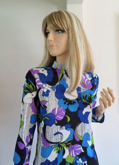Vintage Women's 1960's 70's ReTrO PsYcHeDeLiC by ElectricLadyland1, $34.99