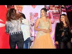 """Aspiring actress Manisha slaps director on stage for molestation"" ! ! !"