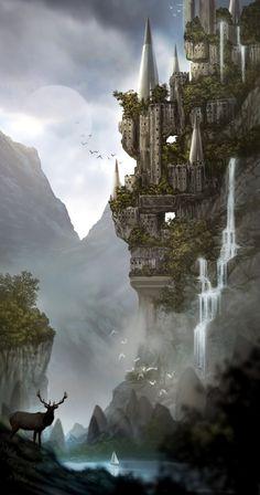MOUNTAIN CASTLE BY IAN_BOE