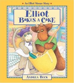 Elliot Bakes a Cake (Elliot Moose Stories) Brand: Kids Ca. Kids Ca, Childhood Tv Shows, Birthday Book, Author Studies, Pbs Kids, Reading Levels, Stories For Kids, Vintage Children, Book Worms