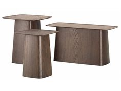Wooden coffee table WOODEN SIDE TABLE by Vitra design Ronan