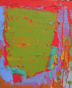 The John Hoyland Abstract Oil, Abstract Expressionism, Abstract Paintings, Colour Field, Painting Edges, Texture Art, Collages, Contemporary Art, Artsy