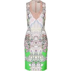 Roberto Cavalli - Printed Jersey Dress (30% off)