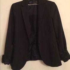 Zara Blazer New without tag black Zara fitted blazer. Size S Zara Jackets & Coats Blazers