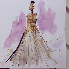Inspired by @dior #art #animation #cartoon #illustration #characterdesign #design #visdev #visualdevelopment #sketchbook #artistsoninstagram #conceptart #dior #fashion #fashionillustration #style