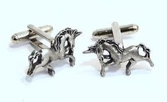 #Unicorn cufflinks by hoardersworld in english #pewter, gift #boxed (h),  View more on the LINK: http://www.zeppy.io/product/gb/2/200907979300/