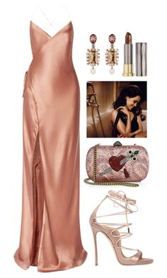 """Private Show"" by vvsuals ❤ liked on Polyvore featuring Mason by Michelle Mason, Oscar de la Renta, Gucci, Dsquared2 and Urban Decay"