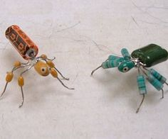 How to turn old computer parts into cute little bugs. Help save the environment at least a little plus make gifts for friends and family (scheduled via http://www.tailwindapp.com?utm_source=pinterest&utm_medium=twpin&utm_content=post1048159&utm_campaign=scheduler_attribution)