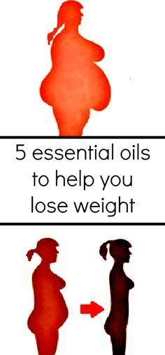 5 Essential Oils which can Help You Lose Weight