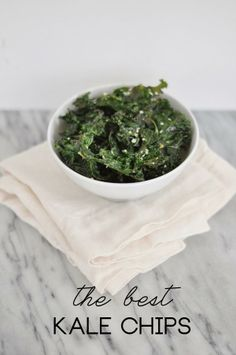 The Best Kale Chips | via Style Within Reach