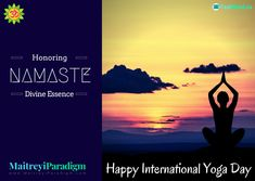 Honoring the benefits of Yoga- celebrating International Yoga Day. Read on...  #Yoga #Pranayama #InternationalYogaDay #SummerSolstice #benefitsofYoga #YogaExercises Happy International Yoga Day, True Yoga, United Nations General Assembly, Live In The Present, Pranayama, Summer Solstice, Yoga Benefits, Joy And Happiness, Thoughts And Feelings