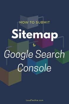 How to Submit a Sitemap to Google Search Console  A sitemap is an XML file which has the URLs within your website. This file helps crawlers to locate all the URLs of your blog.  It is a structural map of your site for search engine bots, submitting a sitemap will let the bots to easily crawl through all the posts, pages and categories inside our site and index them ASAP.  You need only one sitemap file for all different search engine bots. They all crawl through that same sitemap file. So…