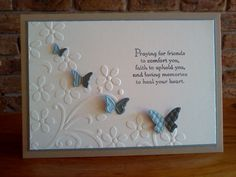CAS Sympathy by Sarah B - Cards and Paper Crafts at Splitcoaststampers