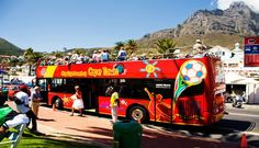 An amazing tourist bus in the Western Cape