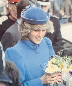 Princess Diana, March, 1984