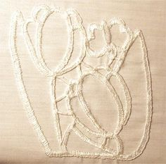 Information on cutwork embroidery designs and cutwork techniques. How to produce a stunning heirloom in whitework Cutwork Embroidery, Types Of Embroidery, Embroidery Stitches, Embroidery Designs, Needle Lace, Fabric Art, Needlework, Wedding Decorations, Cut Work