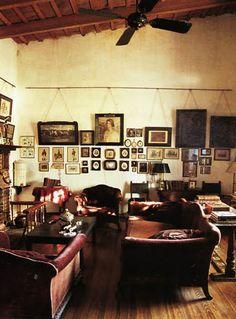 EN MI ESPACIO VITAL: Muebles Recuperados y Decoración Vintage: decoración natural/ natural style