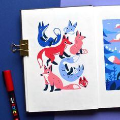use posca pens Posca Marker, Marker Art, Illustrations, Illustration Art, Art Sketches, Art Drawings, Posca Art, Arte Sketchbook, Guache